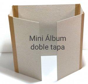 Fridita Set de cartones para montar álbum doble apertura 17x16 cm