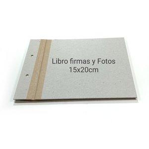 Fridita Set de cartones para montar Libro de Firmas 15x20 cm