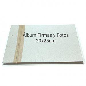 Fridita Set de cartones para montar Libro de Firmas 20x25 cm