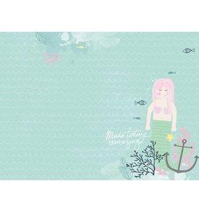 """Álbum 12x12"""" KaiserCraft Mermaid Mint"""