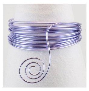 Alambre aluminio 5 m x 1,5 mm Soft Lilac
