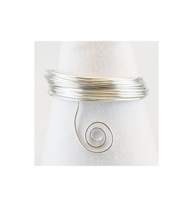Alambre aluminio 10 m x 1 mm Silver