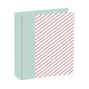 """Álbum 6""""x8"""" Kimidori Colors especial Diario de Navidad modelo candy cane"""