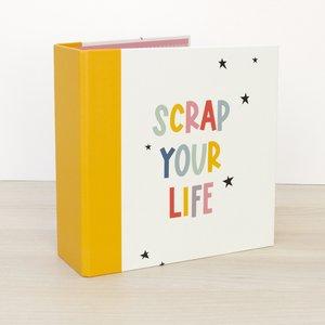 """Álbum 6""""x8"""" Kimidori Colors lomo ancho Scrap your life"""