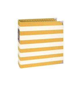 Sn@p Binder Yellow Stripes