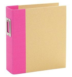 "Sn@p Binder 6x8"" Pink con fundas"