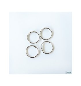 "Set 4 anillas de 1"" - 2,54 cm"