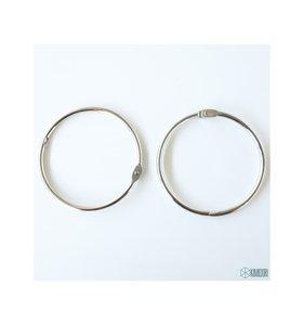 "Set 2 anillas de 2,5"" - 6,35 cm"