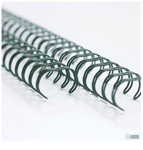 "Espirales encuadernar  5/8 ""- 14,3 mm Verde"