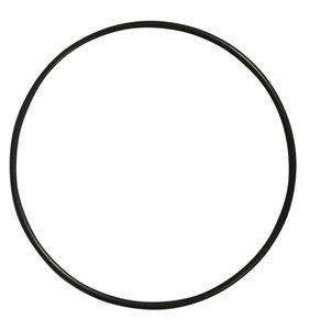 Anilla-bastidor de metal 15 cm negra