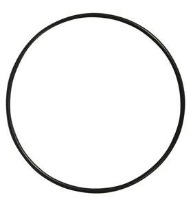 Anilla-bastidor de metal 25 cm negra