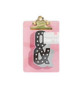 Mini Clipboard Marquee Ampersand
