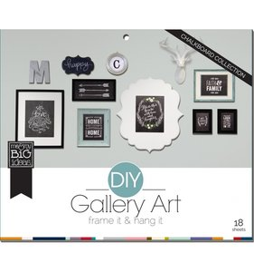 DIY Gallery Art Chalkboard