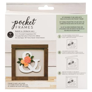 "Kit Accesorios Pocket Frames Ampersand 6""x5.5"""