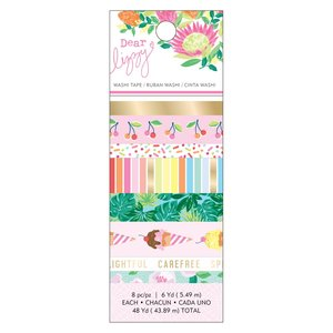 Set de washi tape Dear Lizzy Here and Now