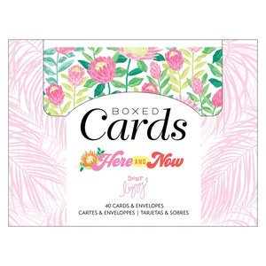 Set de tarjetas y sobres Dear Lizzy Here and Now