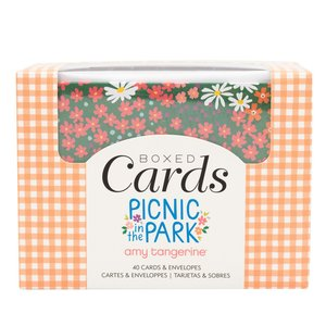 Set de tarjetas y sobres Amy Tangerine Picnic in the park