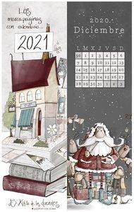 Calendario Marcapáginas 2021 El Altillo de los Duendes