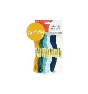 Set hilos de algodón Honey