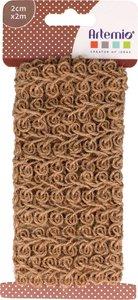 Cinta de Yute natural Spirales 2 metros