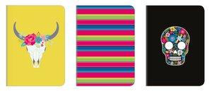 Set de cuadernos A5 Viva la Vida 3 pcs