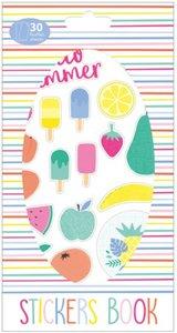 Libreto de pegatinas 30 hojas Tutti Frutti