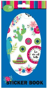 Libreto de pegatinas 30 hojas Viva la Vida
