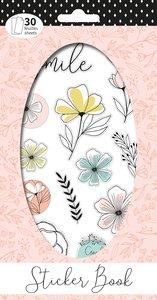 Libreto de pegatinas 30 hojas Good Vibes