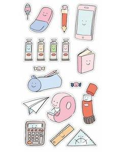 Set de pegatinas puffy So Cute Essentials