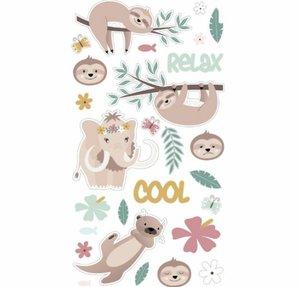 Set de pegatinas puffy No Stress & Co Relax