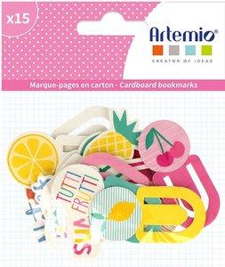 Set de Clips de chipboard 15 pcs Tutti Frutti