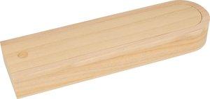 Plumier de madera para decorar 24 cm