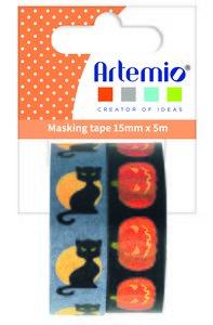 Rollos de washi tape Artemio Halloween 1