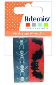 Rollos de washi tape Artemio Halloween 2