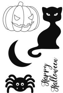 Set de sellos Artemio Halloween Happy