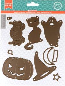 Set de troqueles Artemio Halloween 10 pcs