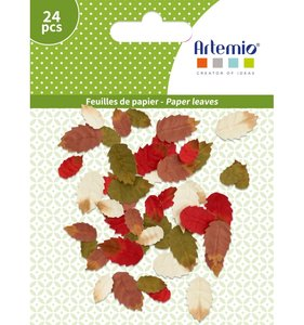 Set de hojas de papel Autunm