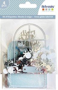Set shakers Bolas de nieve Cozy Christmas