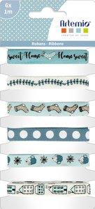 Set de cintas decoradas Cozy Christmas