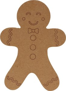 Silueta DM Cozy Christmas Gingerbread 15 cm