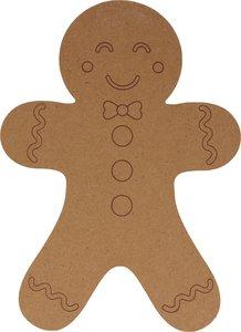 Silueta DM Cozy Christmas Gingerbread 25 cm