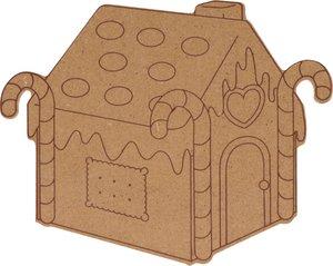 Silueta DM Cozy Christmas Casita de chcocolate 15 cm