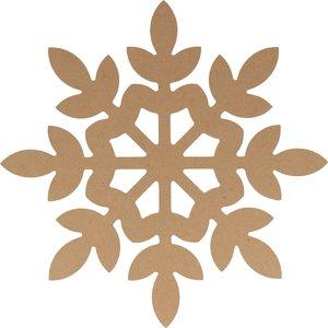 Silueta DM Cozy Christmas Copo de nieve 15 cm