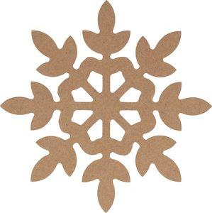 Silueta DM Cozy Christmas Copo de nieve 25 cm