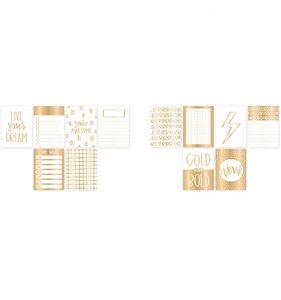 Tarjetas Gold and Bold 3x4