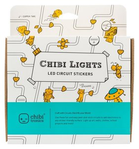 Luces para tarjetas Chibitronics Starter Kit