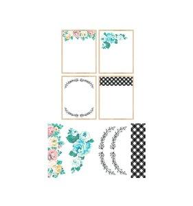 "Fondos Cling Flower Magnet Studio 16""x20"""