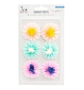 Flores de papel de seda Sunny Days