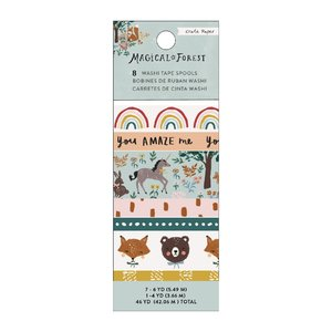 Set washi tape Magical Forest