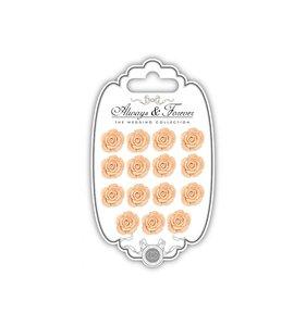 Flores de resina Always & Forever Peach